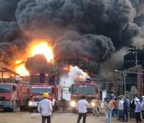 વડોદરાની મંજૂસર GIDCમાં આવેલી કેમિકલની કંપનીમાં ભિષણ આગ, જુઓ Video