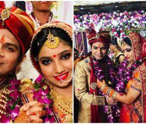 'સુન રહા હૈ તૂ' ફેમ અંકિત તિવારીએ પલ્લવી શુક્લા સાથે કર્યા લગ્ન, જુઓ ફોટો