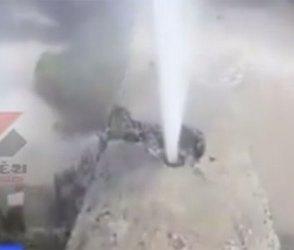 દ્વારકામાં હજારો લીટર વેડફાયુ પાણી, જુઓ Video