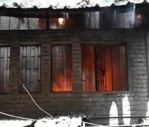 સુરત : બંધ મકાનમાં કોઇ કારણોસર લાગી વિકરાળ આગ, જુઓ વીડિયો