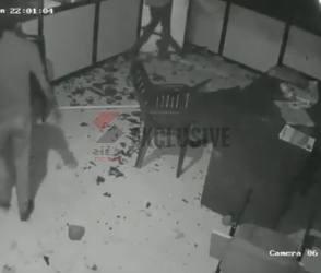 આંબાવાડી હોસ્ટેલમાં તોડફોડને મામલે CCTV આવ્યા સામે