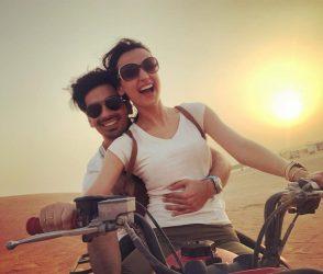દુબઇમાં પતિ સાથે આ રીતે આનંદ કરી રહી છે સનાયા ઇરાની