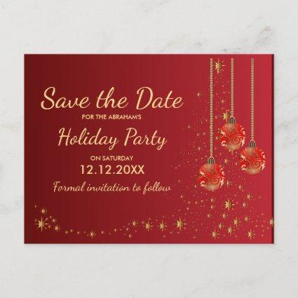 Office Christmas Party Save The Date Cards \u2013 Save the Date Cards