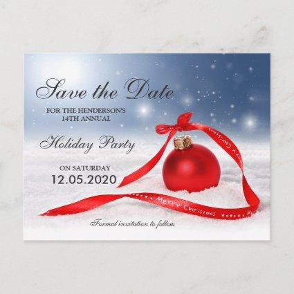 Company Christmas Party Save The Date Cards \u2013 Save the Date Cards