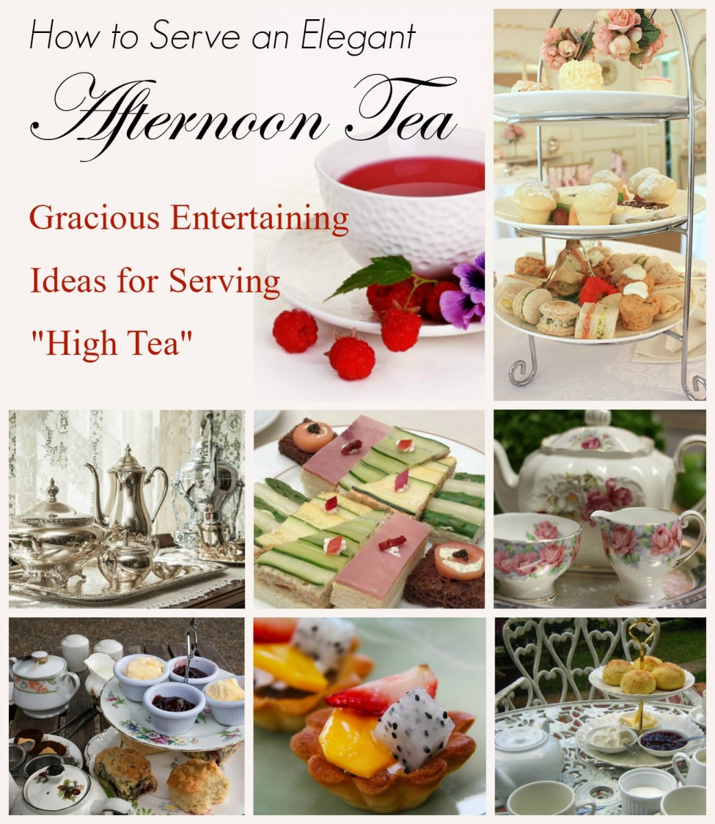 How To Serve An Elegant Afternoon Tea Delishably