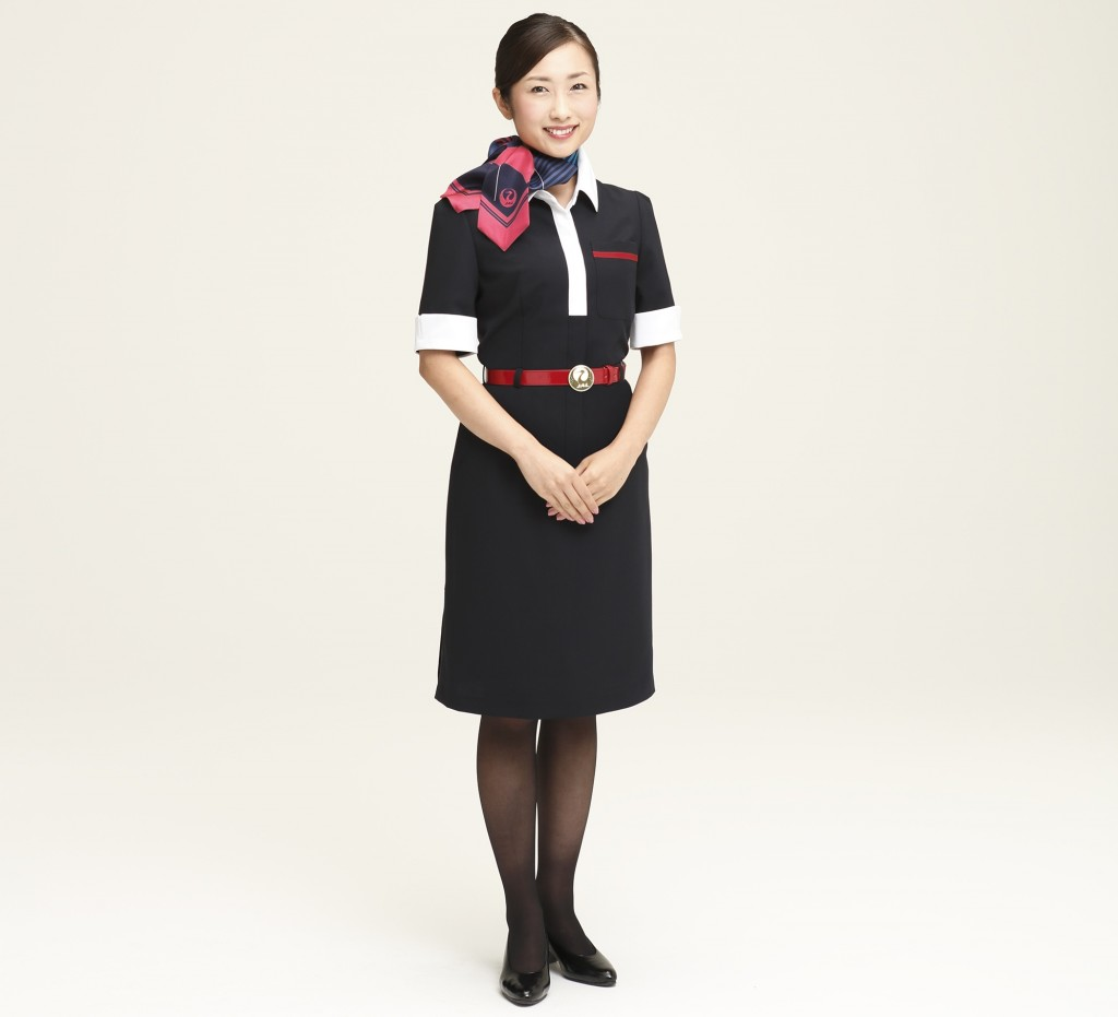 26 Airlines Around The World With The Best Cabin Crew Uniforms - Neck Scarf Air Hostess