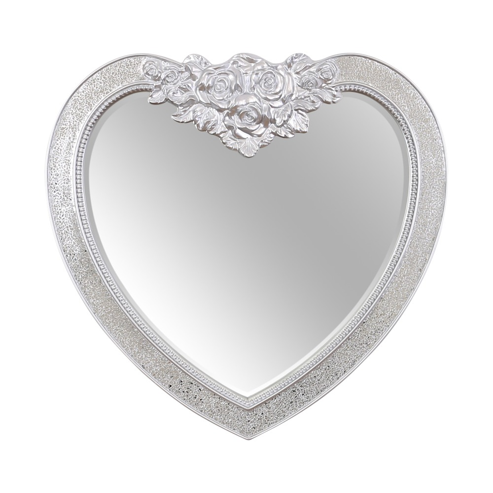 Decorative Mirror Rectangle Buy Crackle Glass Heart Mirror Select Mirrors