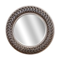 Buy Venice Silver Large Round Mirror | Select Mirrors