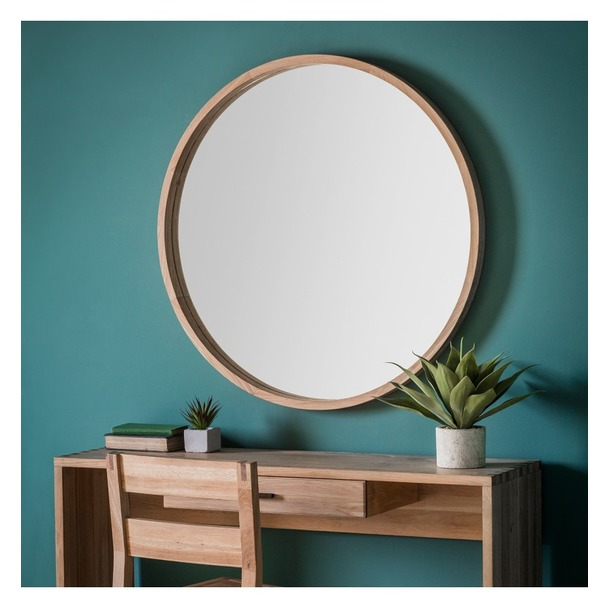 Oval Mirror Silver Frame Buy Bowman Round Mirror Large Select Mirrors