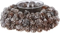 GISELA GRAHAM - Pine cone candle holder | Selfridges.com