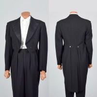 38 1950s Men Savile Row Tuxedo Black Tie White Tie Formal ...