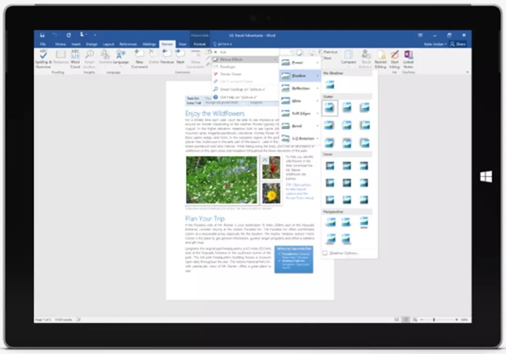 Microsoft Word 2016 - Download - mickrosoft word