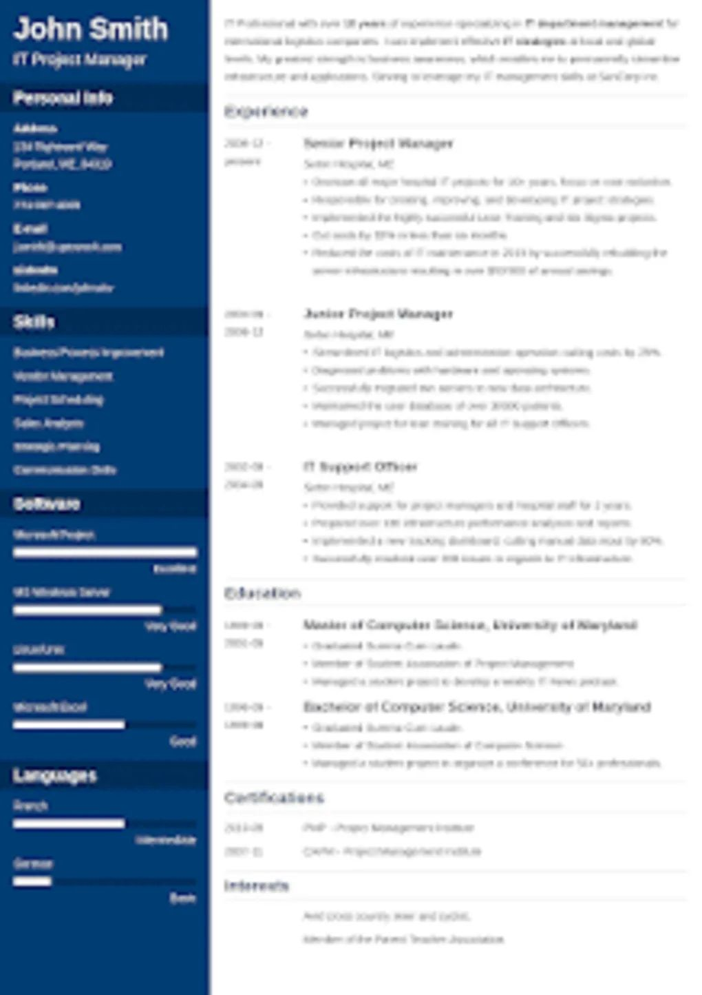 resume maker for iphone