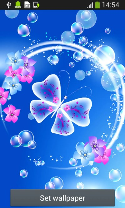 Butterfly Live Wallpapers for Android - Download
