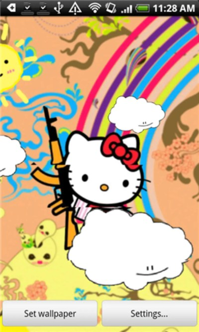 Hello Kitty Live Wallpaper for Android - Download