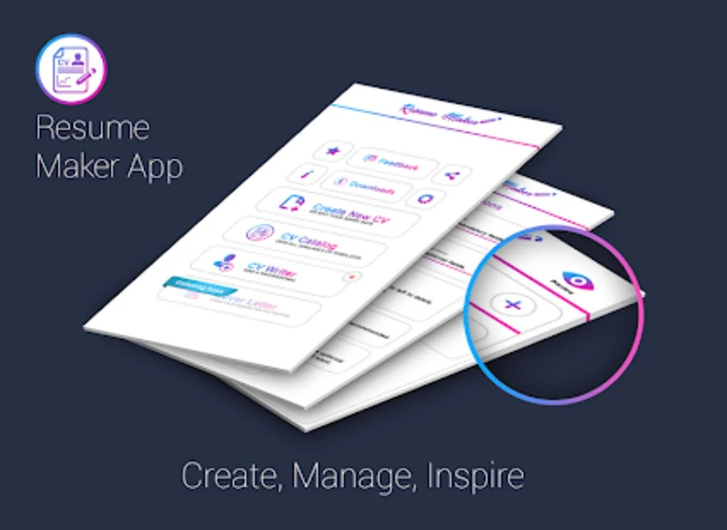 Free resume maker CV maker templates formats app for Android - Download
