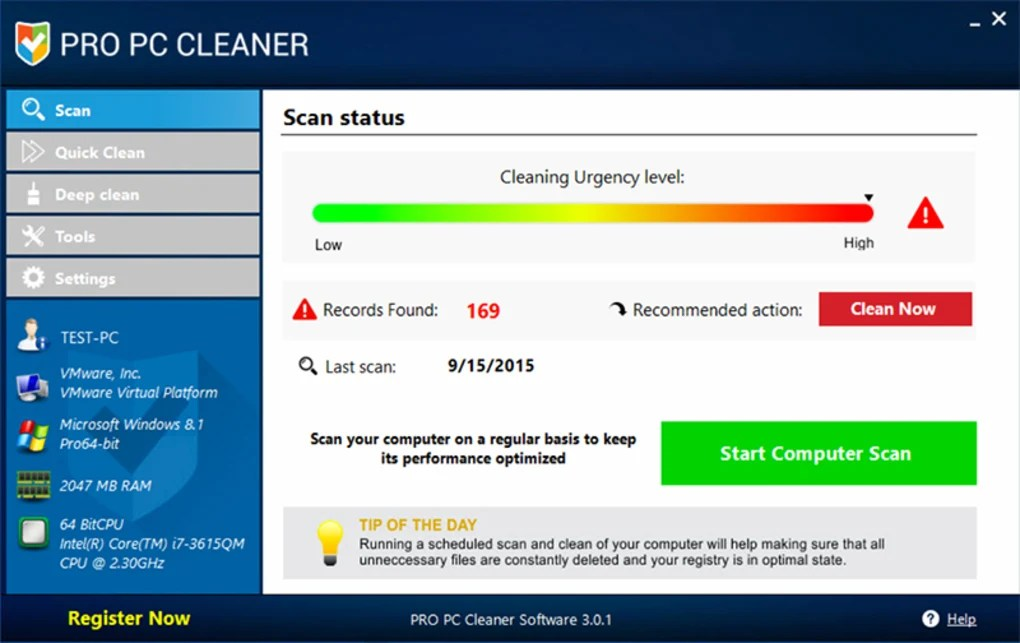 Pro PC Cleaner - Download