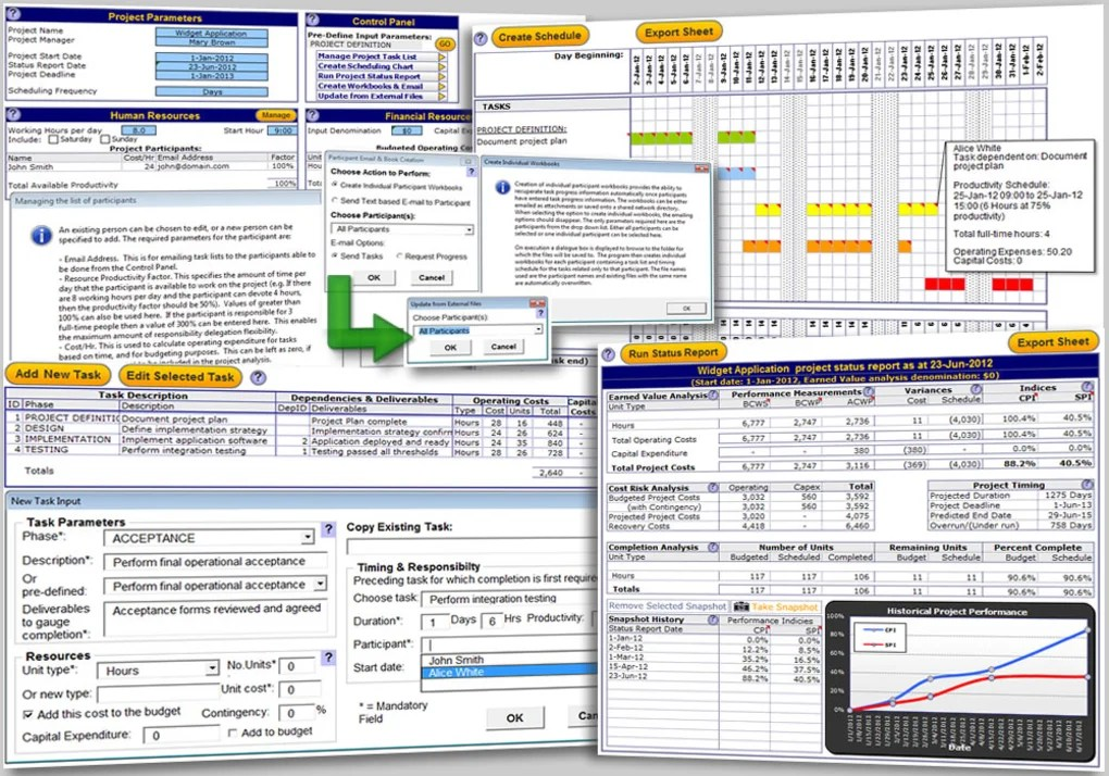 Excel Project Management Template - Download