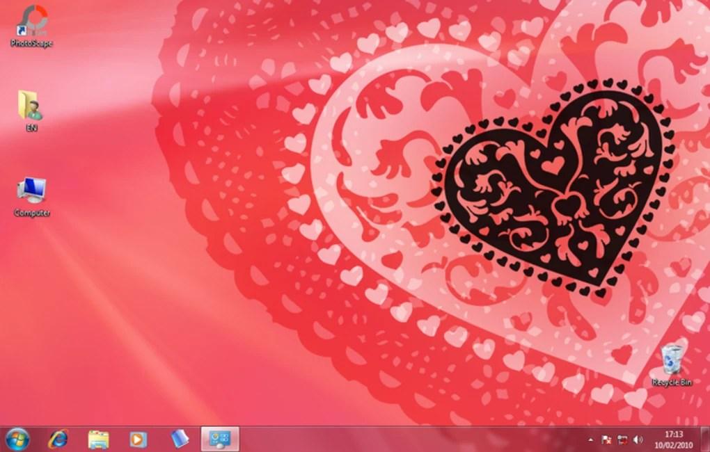 Valentine Windows themes (Windows) - Download