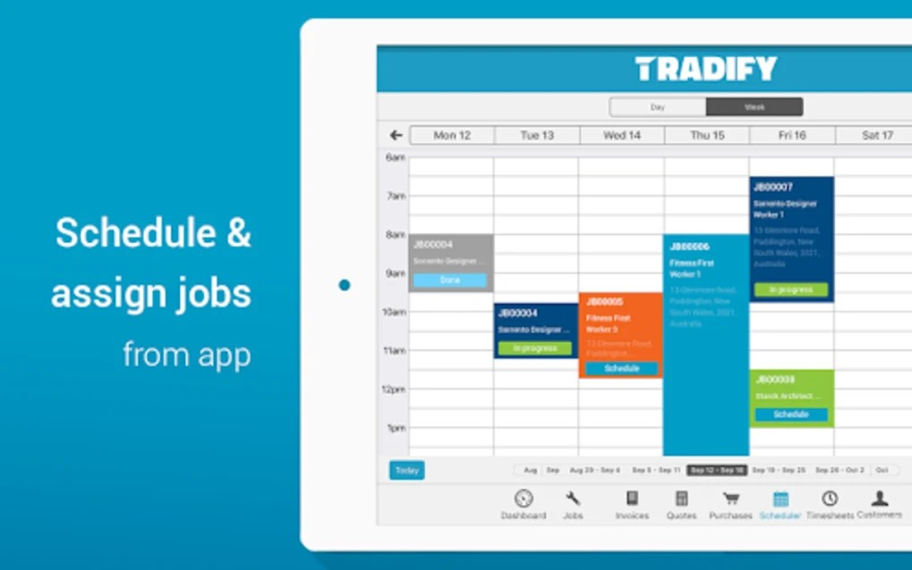 Tradify - Job management from quoting to invoicing for Android