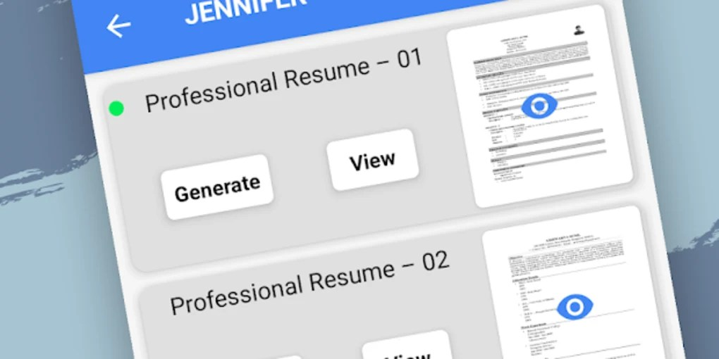 Resume Builder Free for Android - Download