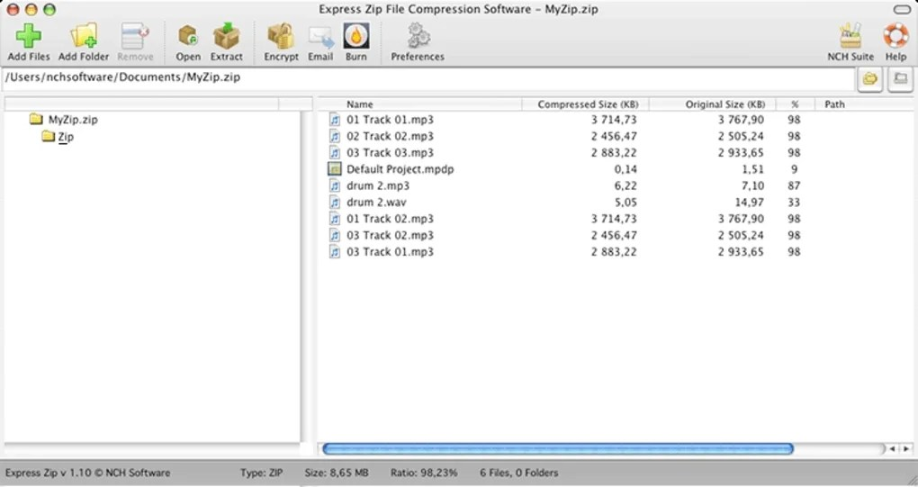 Express Zip Mac Compression Software (Mac) - Download