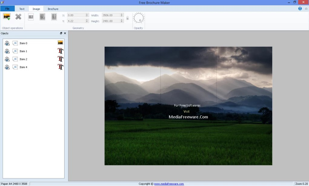 Free Brochure Maker - Download