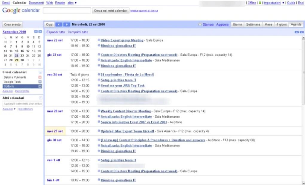 Google Calendar Online