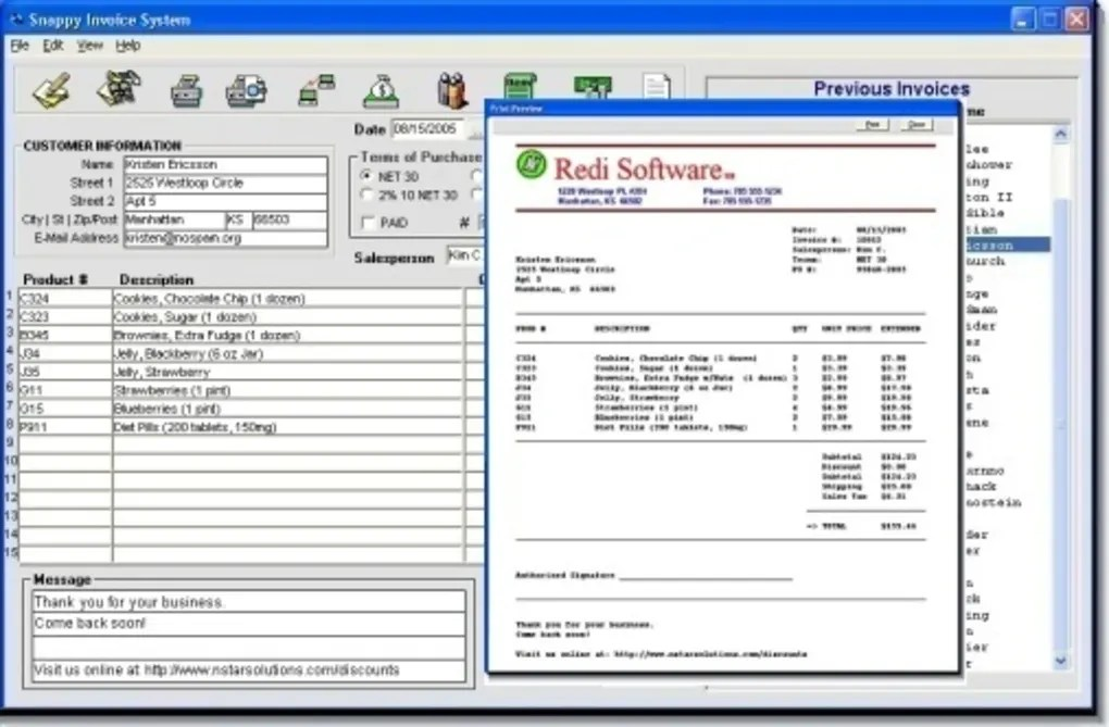 Snappy Invoice System - Download