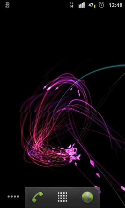 3D FireFlies Live Wallpaper for Android - Download