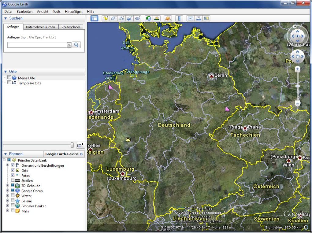 Gute Apps Für Android Google Earth - Download