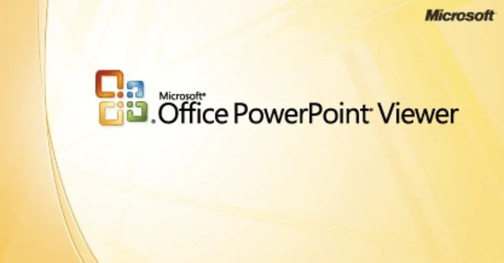 Microsoft PowerPoint Viewer 2007 - Download