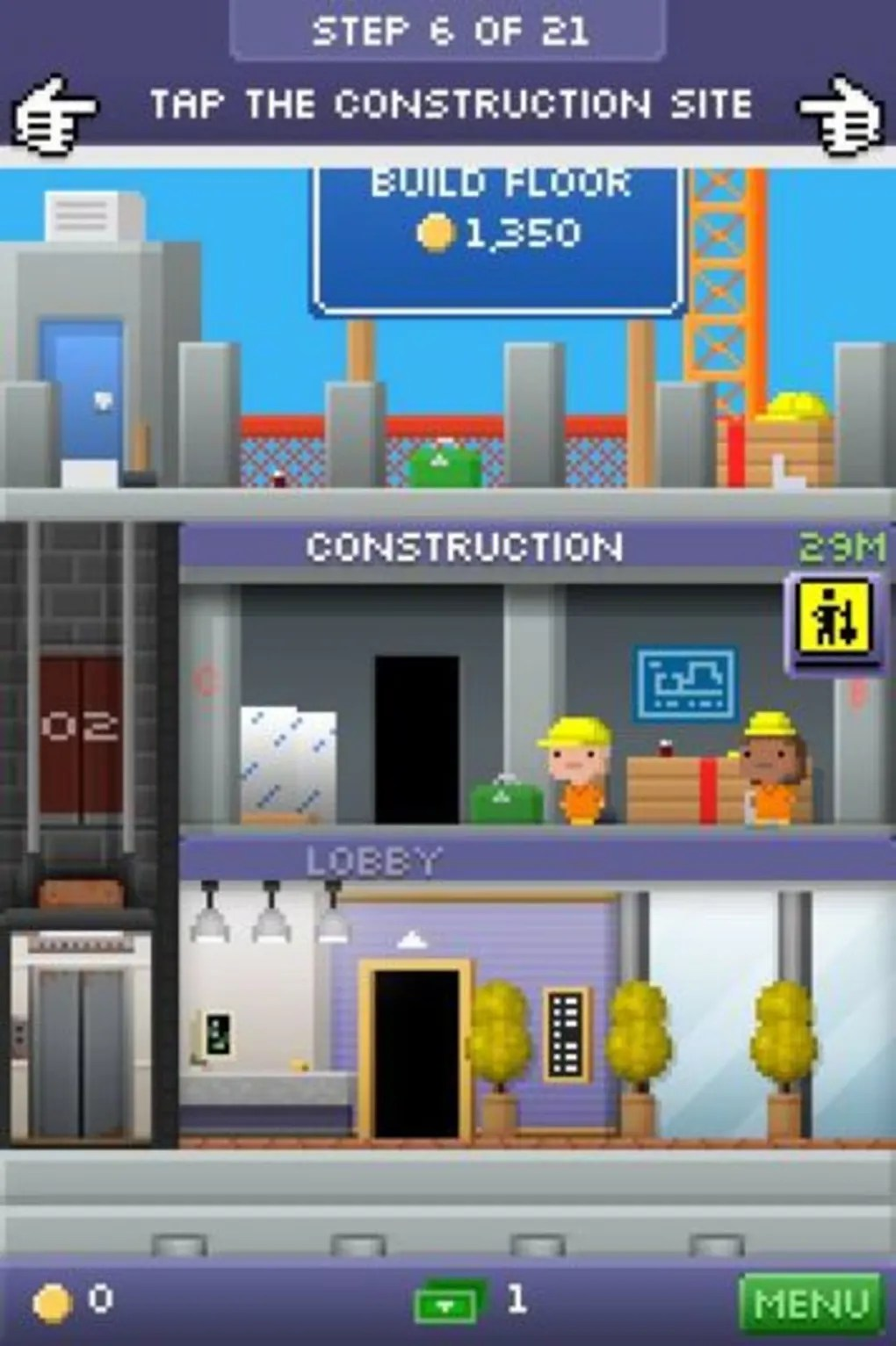Verdieping Sims Freeplay Tiny Tower Voor Android Download