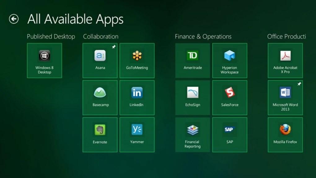 Citrix Receiver for Windows 10 (Windows) - Download