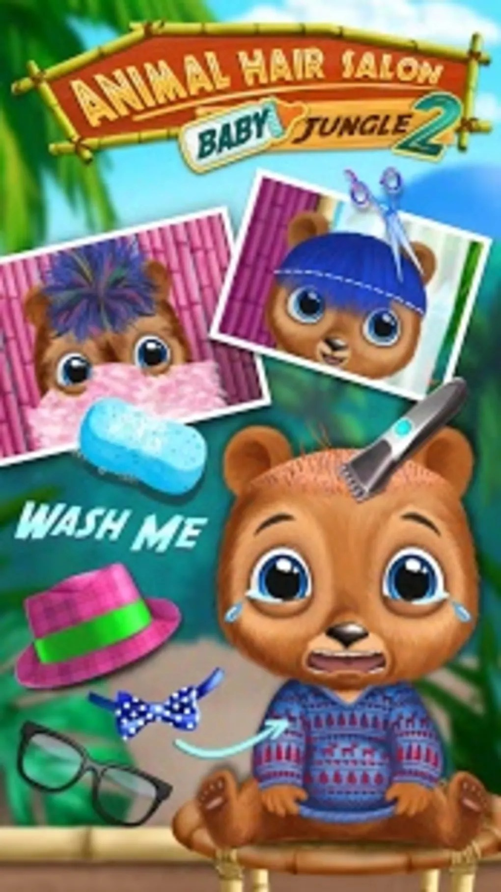 Toca Hair Salon Me Gratuit Baby Animal Hair Salon 2 For Android Download