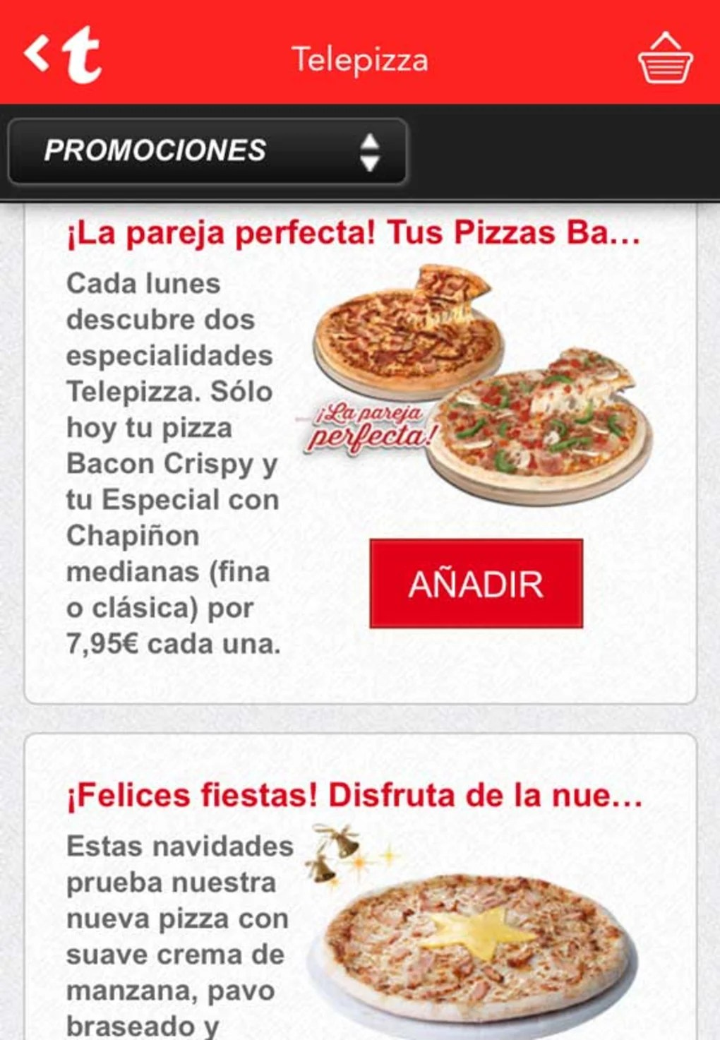 Telepizza Pizza Del Mes Telepizza 2 Para Iphone Descargar