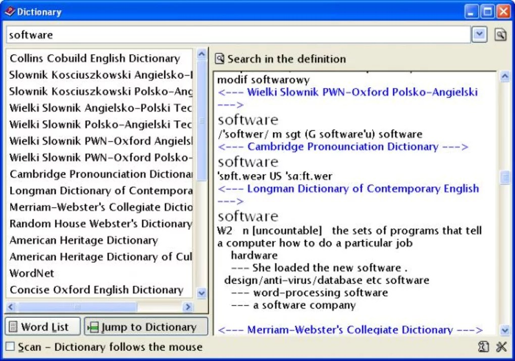 Ultimate Dictionary - Download