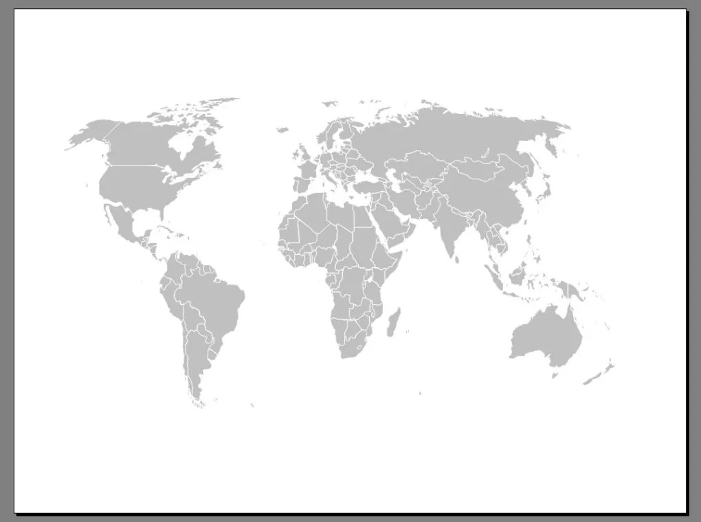 Free Editable Worldmap for Powerpoint - Download