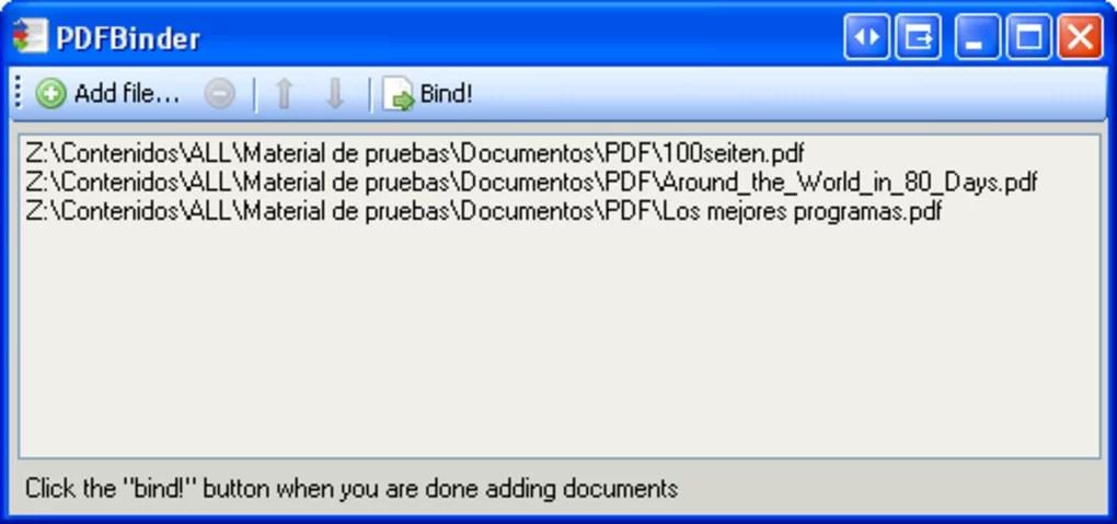 PDFBinder - Download