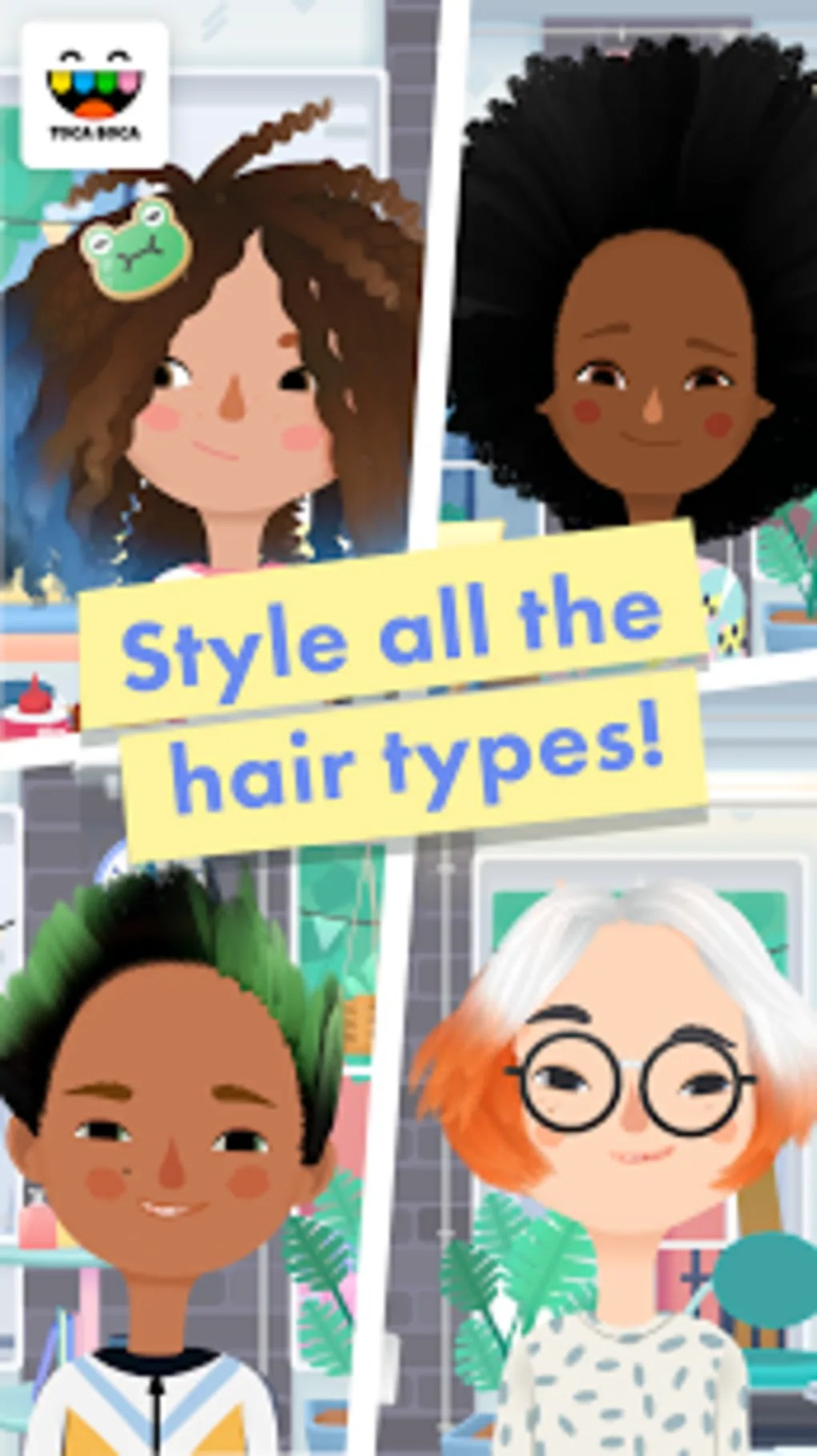 Toca Hair Salon Me Gratuit Toca Hair Salon 3 For Android Download