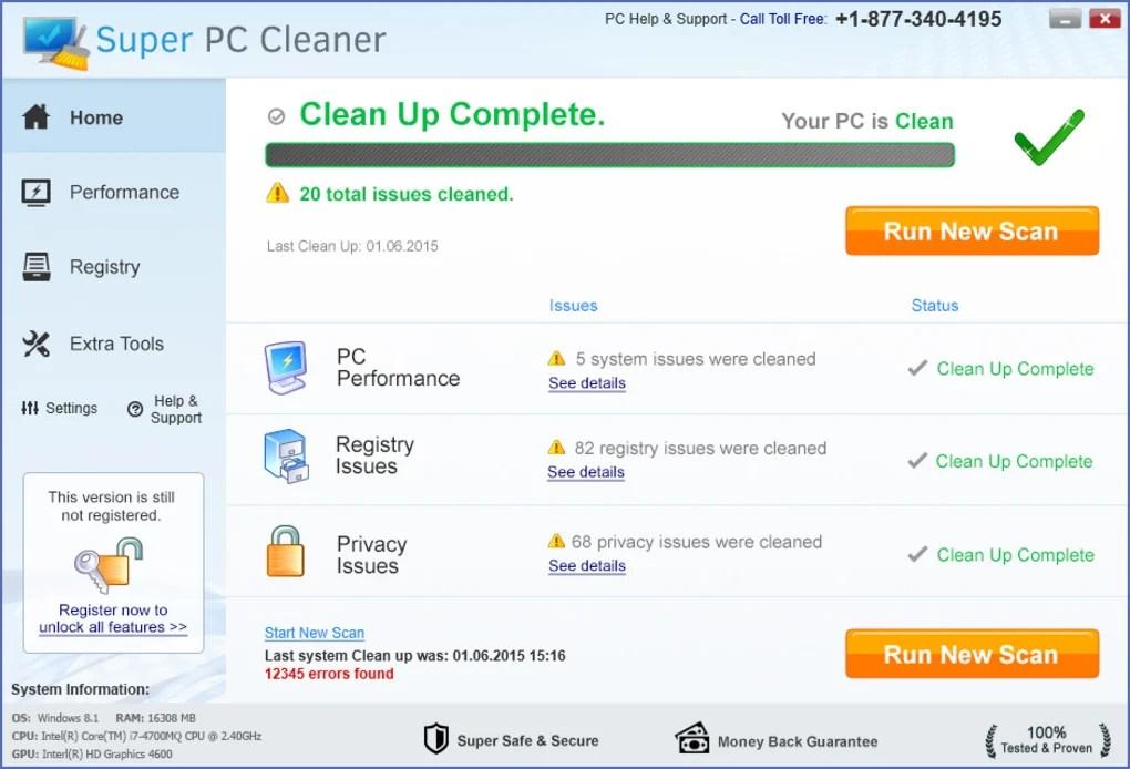 Super PC Cleaner - Download