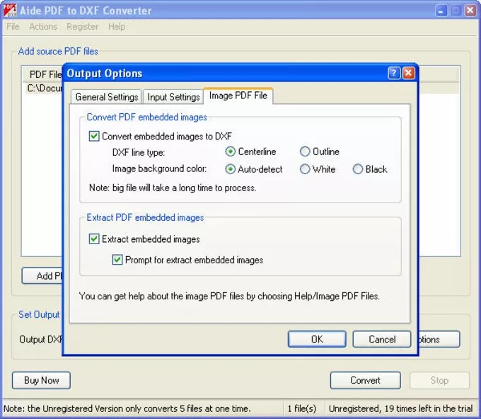 Aide PDF to DXF Converter - Download - Convert File To Pdf