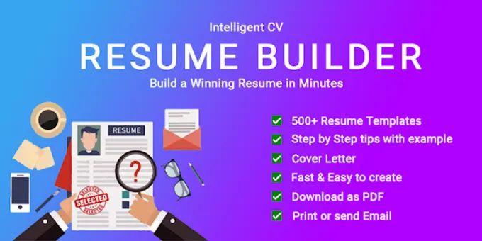 cv maker free resume builder cv templates 2019