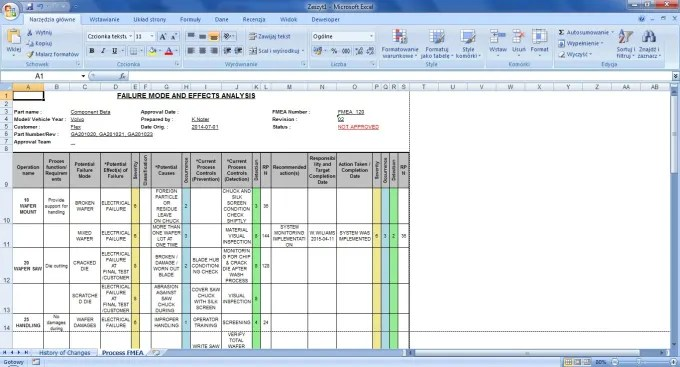 Qdoc Software - Flow Chart, Control Plan, FMEA - Download - control plan