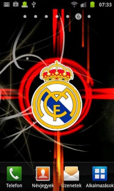 Real Madrid Live Wallpaper para Android - Descargar