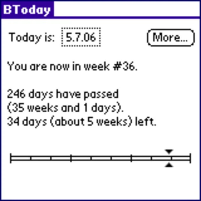 BToday for Palm OS - Download