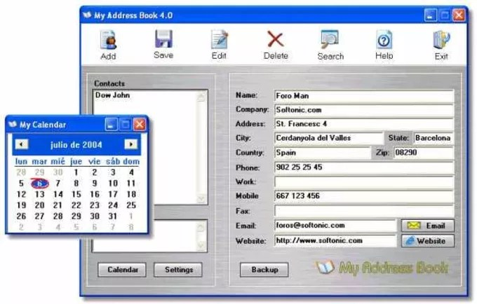My Address Book - Download
