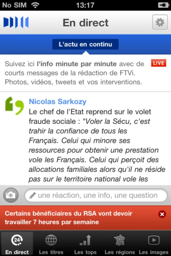 France 3 Tv Pluzz Replay Francetv Info Pour Iphone - Télécharger