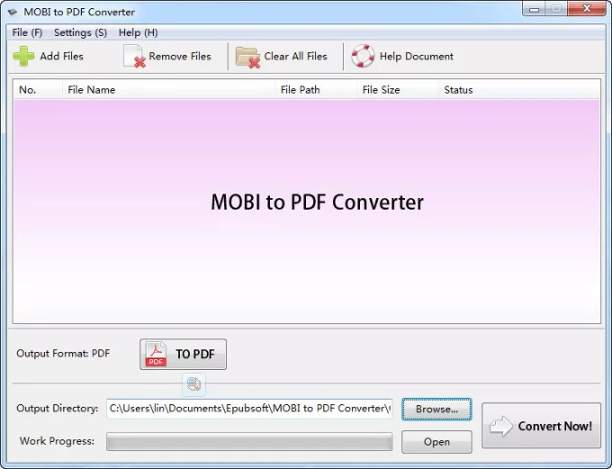 MOBI to PDF Converter - Download - Convert File To Pdf