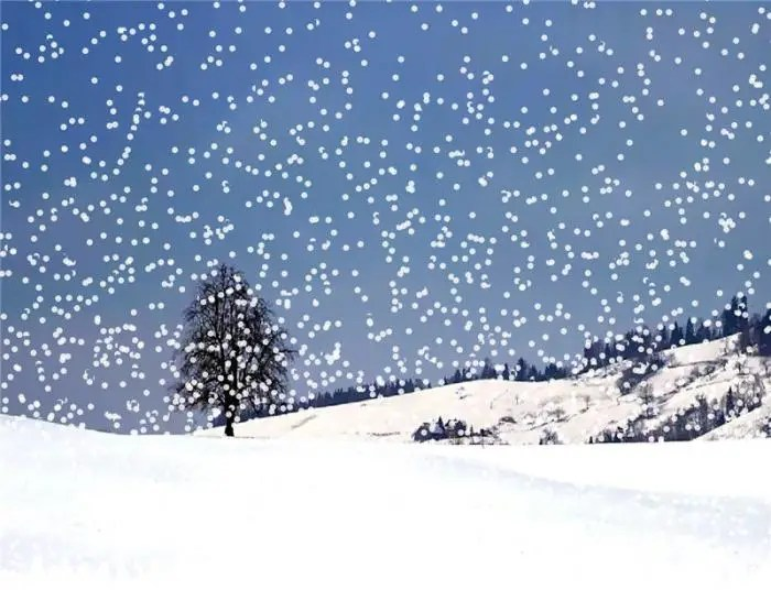 Falling Snow Live Wallpaper For Iphone Snow3 Download
